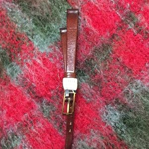 Vintage  Buffle leather watch band